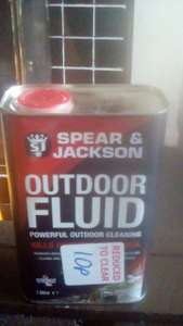 Spear and Jackson outdoor fluid 10p @ b&m