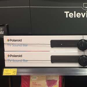 Polaroid TV Sound Bar - £25 instore @ Asda