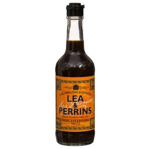 Lea & Perrins Worcestershire Sauce (290ml) ONLY £1.49 @ B&M