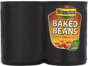 Branston Baked Beans / Branston Baked Beans Reduced Salt and Sugar (4 x 410g) was £2.00 now £1.25 @ Tesco