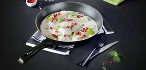 Pyrex frying pan 26cm ceramic induction, Tesco instore - £6