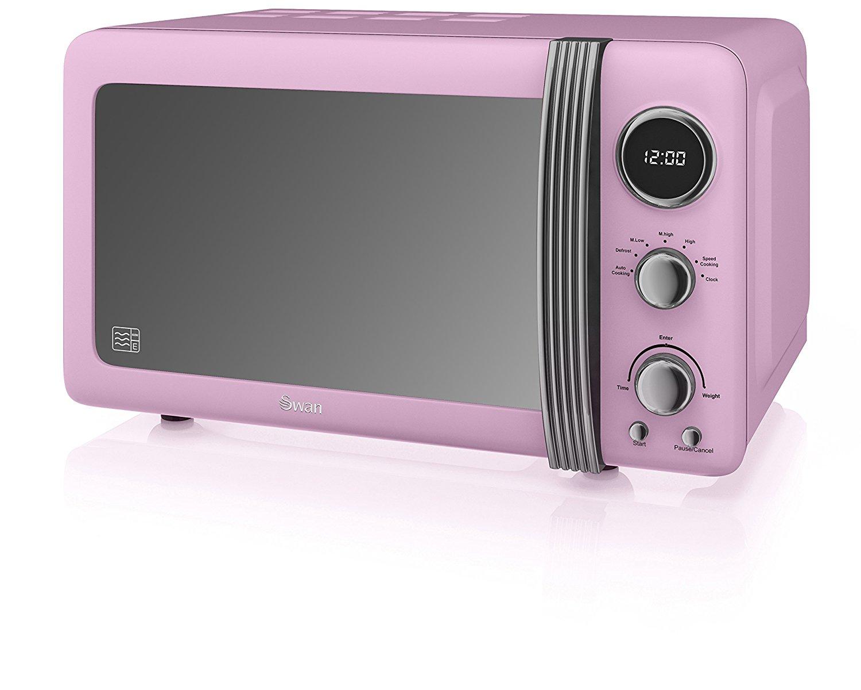 Swan SM22030PN Retro Digital Microwave, 800 W, Pink  £49.99 @ Amazon