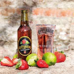 Kopparberg 3 for £5 but 3 for £3.68 with PYO in Waitrose