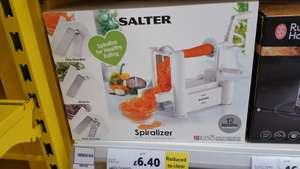 Salter Spiralizer at Tesco for £6.40