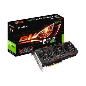 Gigabyte GeForce GTX 1080 Windforce 8GB Card £469.98 @ CCL Online