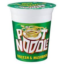 Chicken & mushroom pot noodle 50p @ Asda