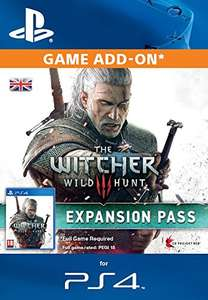 Witcher 3 expansion pass (PS4 ) £9.79 @ amazon