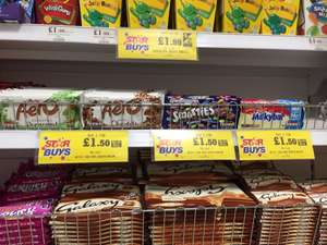 Nestle 100g Choc Bars - 2 for £1.50 - Home Bargains