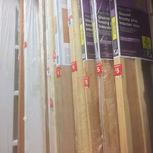 B&Q clearance on internal & exterior doors - £5 - instore (Bishopbriggs)