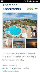 From LGW: 1 Week Package Holiday Corfu 2-9th October £300.64 £150.32pp Inc flights, accommodation, luggage and transfers (based on 2 Adults) @ Olympic Holidays
