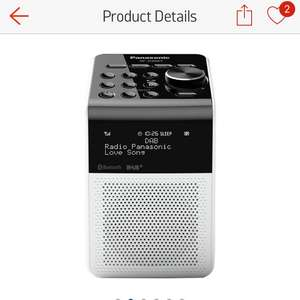 Panasonic DAB Bluetooth splashproof radio ARGOS - £39.99