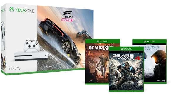 Xbox One S 1TB - Forza Horizon 3 Bundle + 3 FREE games £299.99 @ MS Store