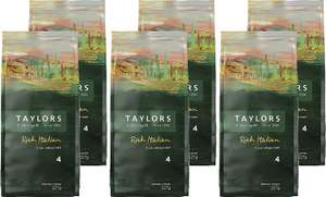 Taylors Of Harrogate Rich Italian Ground Coffee 227 g (Pack of 6) £10.44 (Prime) / £15.19 (non Prime) at Amazon