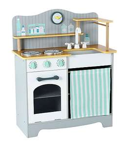 elc mothercare wooden toy kitchen £50 half price from £100