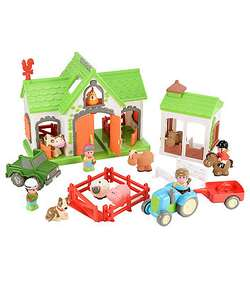 happy land farm playset half price, reduced from £80 to £40 mothercare