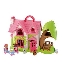Happyland Cherrylane cottage, half price, reduced from £60 to £30 mothercare free c&c