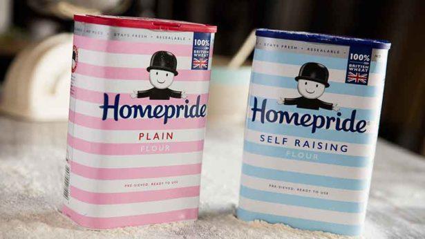 Homepride flour, plain or self-raising 1kg - £1 in Waitrose - 25p  via Topcashback Snap&Save