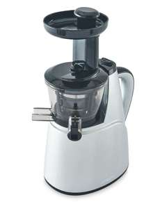 Slow juicer for £19.99 was £39.99 at Aldi.  Online free delivery