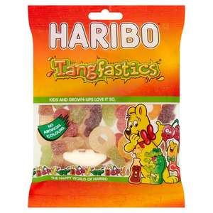 Haribo Tangtasticis and Starmix 50p, at Morrisons