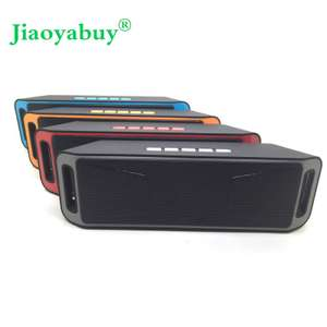 Jiaoyabuy sc208 Bluetooth 4.0 Portable Wireless Speaker TF USB FM Radio Dual Bluetooth Speaker Bass Sound Subwoofer Speakers £10.02 @ aliexpress/ DX wholesale store