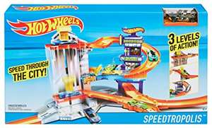 Hot Wheels Speedtropolis Track Set £19.68 (Prime) / £24.43 (non Prime)  Sold by Xtras Online and Fulfilled by Amazon
