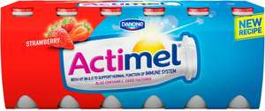 Actimel Strawberry or Strawberry and Blueberry (12 x 100g) was £3.50 now £2.00 @ Morrisons and Asda