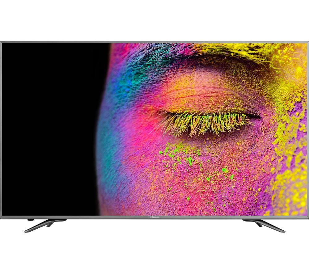"CURRYS HISENSE H50N6800UK 50"" Smart 4K Ultra HD HDR LED TV £499 with code TDD80"