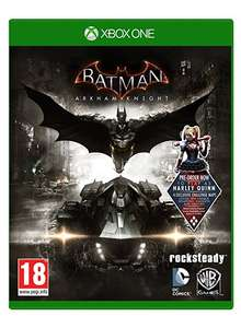 [Xbox One] Batman Arkham Knight Inc Harley Quinn DLC - £8.86 - Shopto