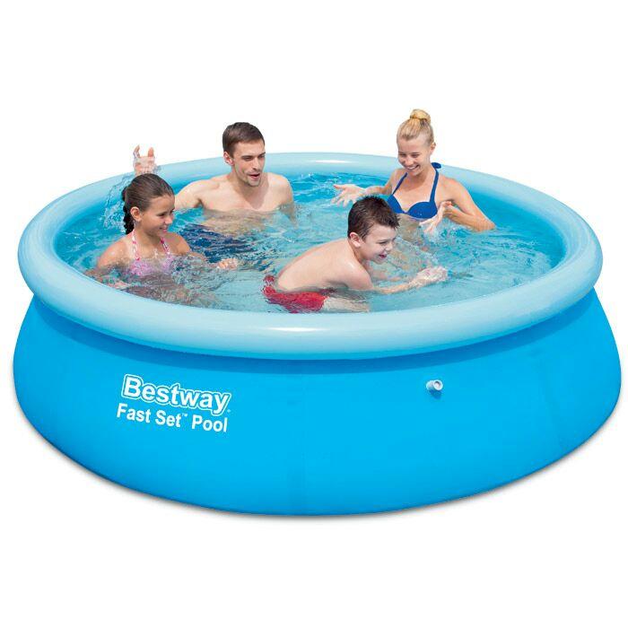 Bestway 8ft fast set pool - £12.50 instore @ Wilko
