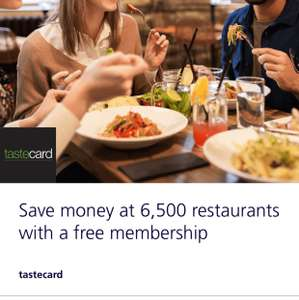 Free 3 months tastecard with o2 priority