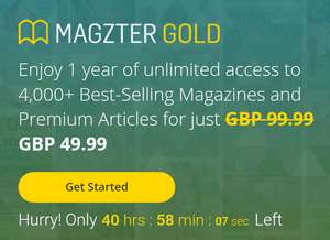 Magzter Online Magazine Annual Sub - 4000+ mags