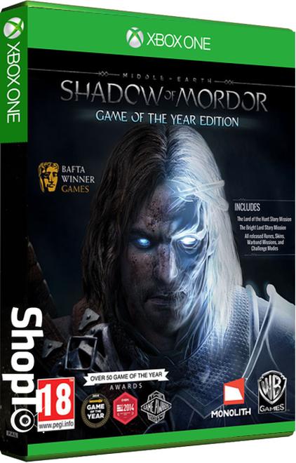 (Xbone) Middle Earth Shadow of Mordor GOTY Edition £9.85 (Xbox One) Outlast Trinity £16.85 @ Shopto