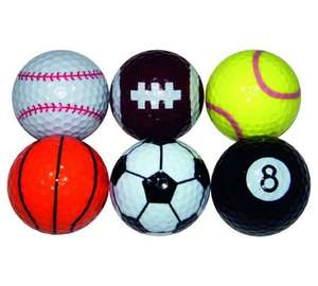 Pack of 6 longridge sports golf balls £3.84 at Argos