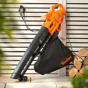 VonHaus 3 in 1 Leaf Blower, Garden Vacuum & Mulcher - 2600W - Large 35 Litre Collection Bag + 2 Year Warranty Included  - £29.98 delivered @ Amazon / Domu UK