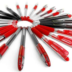 Assorted Clearance Bundle of 20 Branded Pens - Red Ink - £2.69 - Dispatched from and sold by OMGHOWCHEAP LTD / Amazon