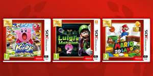 [Nintendo 3DS] Luigi's Mansion 2 / Super Mario 3D Land / Kirby Triple Deluxe - £15.85 - Shopto (Pre-Order)