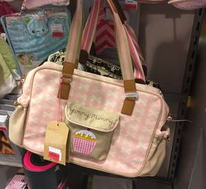 Yummy Mummy Pink Lining baby changing bags £27 in store TK Maxx Glasgow