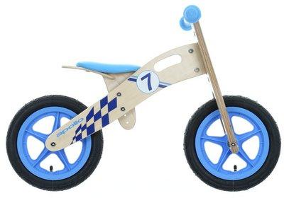Apollo Wooden Balance Bike Blue / Pink £25 @ Halfords