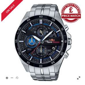 Casio Edifice Men's Scuderia Toro Rosso Steel Watch @ H.Samuel £120