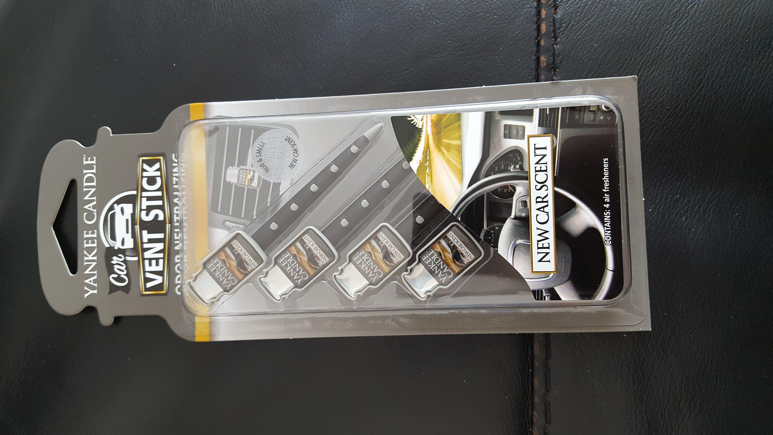 Yankee Candle Car Vent Sticks. £2.99 instore @ B&M
