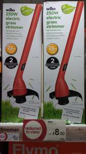 Grass Strimmer 250W £8.50 at Wilko