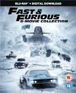 fast and furious 1-8 collection bluray digital download - £14.99 @ Zavvi (pre-order)