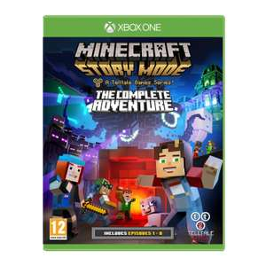 Minecraft Story Mode Complete Adventure (Xbox One) / PS4 Prime only - £16 @ Amazon