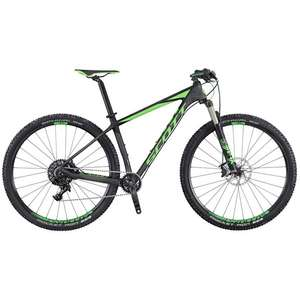 2016 Scott Scale 720 27.5 Inch Carbon Mountain Bike Black Green £1248.99 delivered with code @ Rutland Cycling