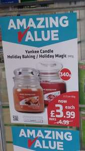Yankee Home Inspiration Candles 340g £3.99 in Savers