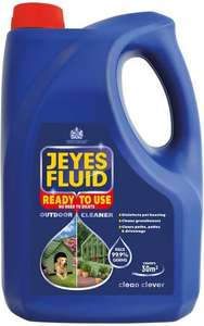 Jeyes Fluid Ready to Use Outdoor Cleaner (4L) was £10.00 now £6.60 @ Tesco (Metro+)
