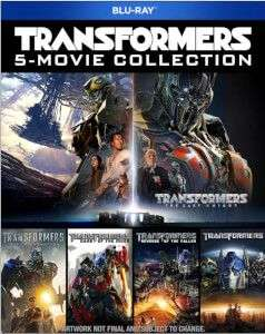 transformers 1-5 bluray collection on zavvi now £14.99 act fast