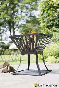 La Hacienda Steel Fire Basket now £12 with Free Click & Collect @ Tesco Direct