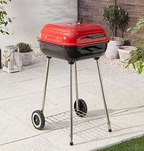 Tesco 47cm Square Charcoal Kettle BBQ now £12.50 @ Tesco Direct (Free C&C)