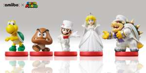 Mario, Bowser, Peach, (Wedding outfit) - Amiibo: Super Mario Odyssey(£10.99 PRIME) Koopa, Goomba  @amazon.co.uk